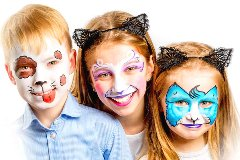 kids' halloween makeup