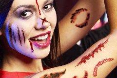 adults' halloween makeup