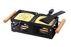raclette grill with candle
