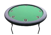 GAME, POKER TABLE
